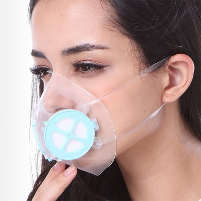 put on Totobobo mask is as easy as a surgical mask.