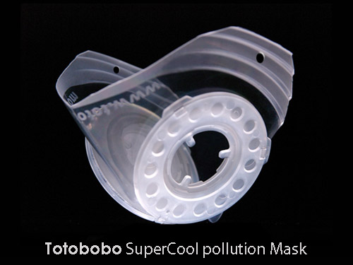 The coolest pollution mask
