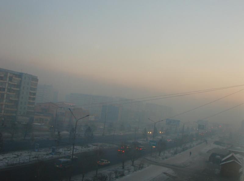 Air pollution in Ulaanbaatar, Mongolia