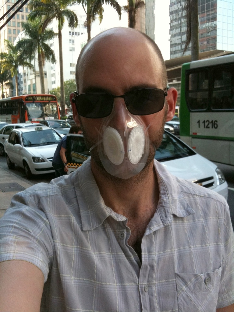 Bert Leatherman in Sau Paulo