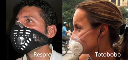 Respro mask VS Totobobo mask