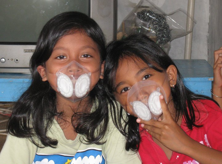 Totobobo mask for children of Merapi